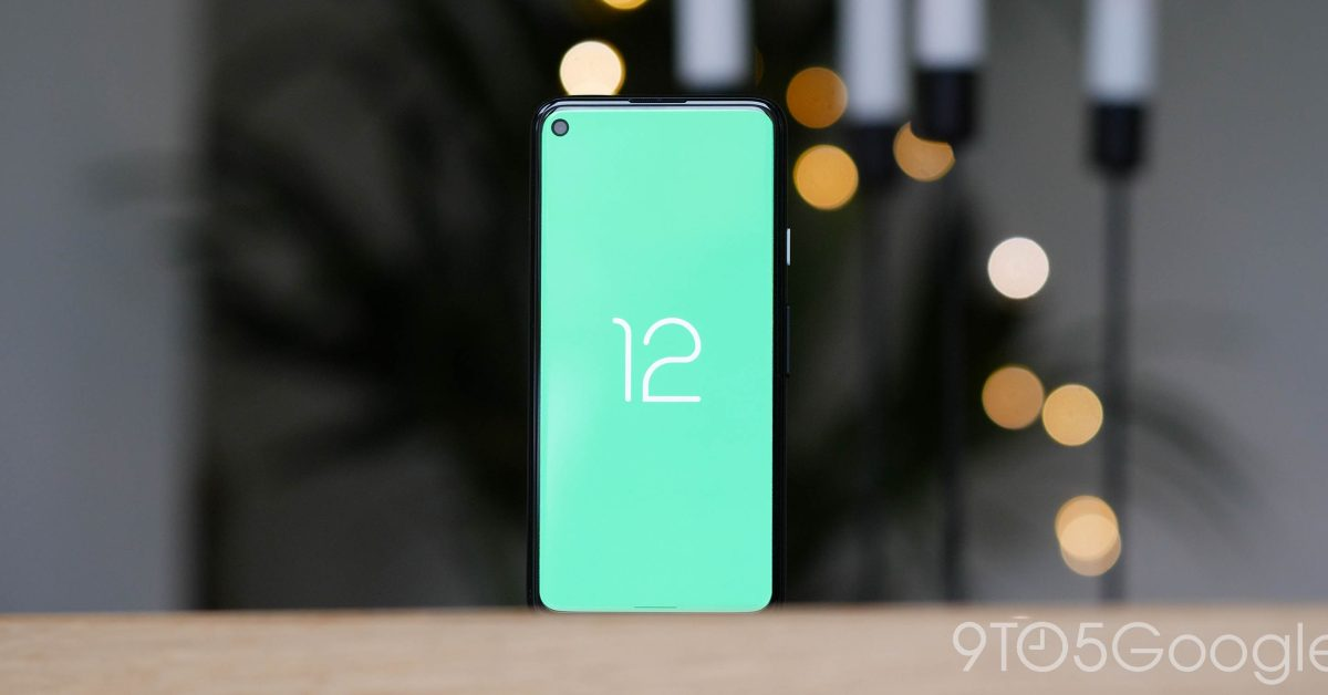 Android 12 Pixel 4a logo 1